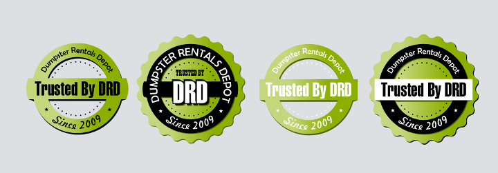 Trusted By Dumpster Rentals Depot (DRD) Seal