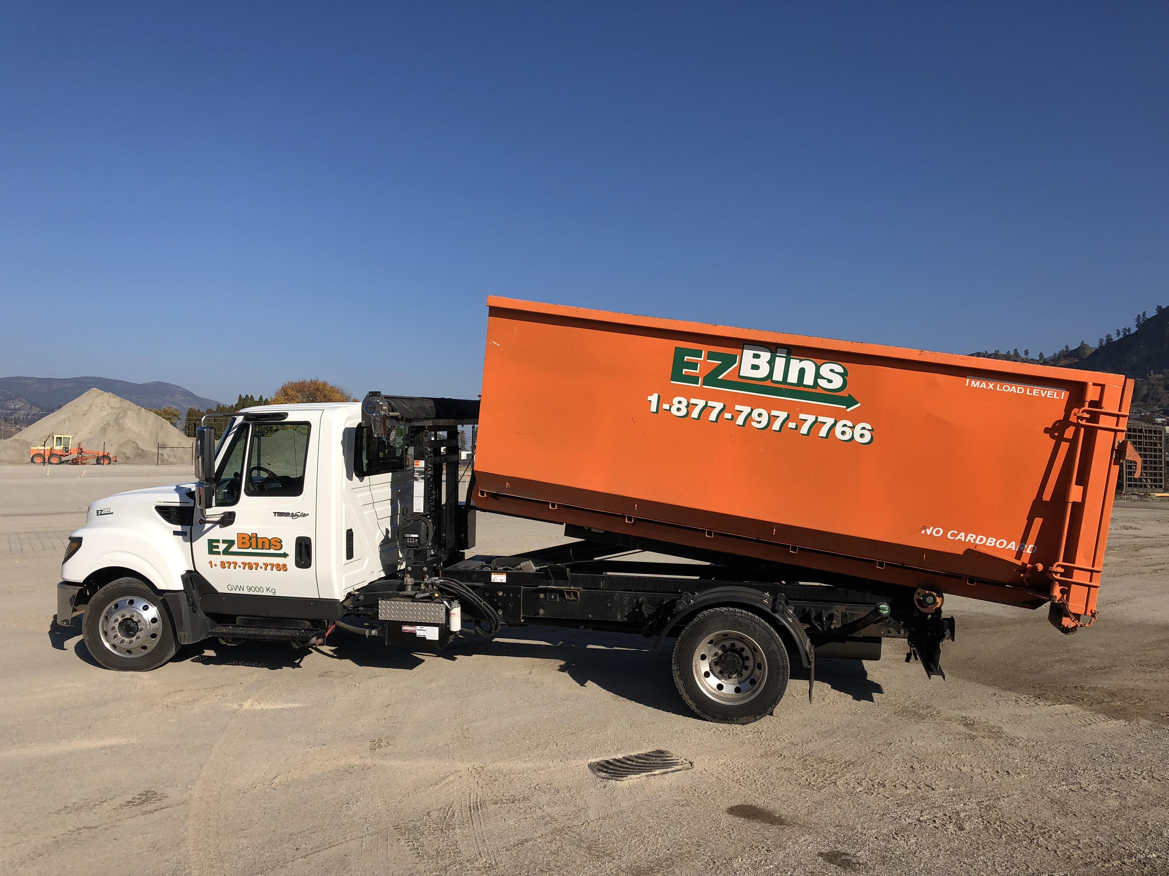 Garbage Bins In Vernon Bc By Ezbins 2018 Dumpster