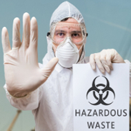 No Hazardous Waste In Our Dumpsters